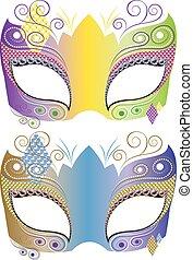 maschera decorativa, carnevale