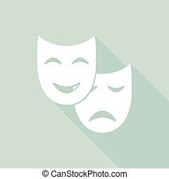 maschera, facciale