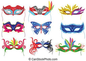 maschera festa
