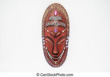 maschera legno