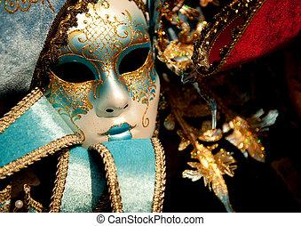 maschera veneziana, carnevale