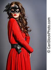 mascherata, sguardo