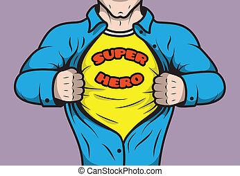 mascherato, libro comic, superhero