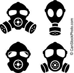 maschere benzina, icona