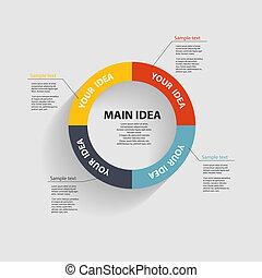 mascherine, vettore, affari illustrazione, infographic