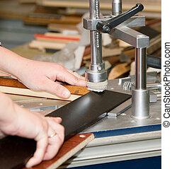 maschine, bilderrahmen, fertigungsverfahren, werkzeug