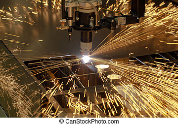 maschine, industriebereiche, schneiden, plasma, metallarbeit