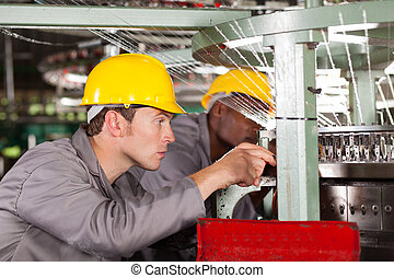 maschine, weberei, gewebe, mechanik