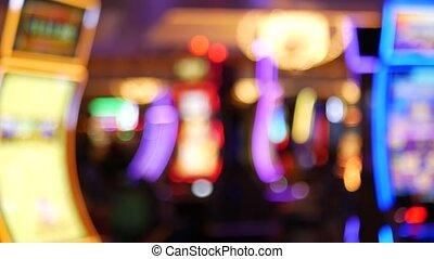 maschinen, kasino, steckplatz, las, schlitze, maschine, ...