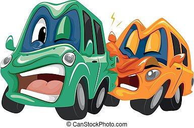 Mascot Car Crash