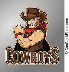 Mascot Cowboys