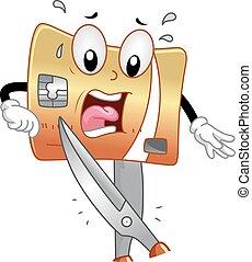 Mascot Credit Card Cut