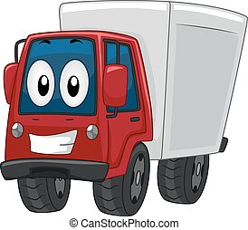 Mascot Delivery Truck