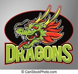 Mascot Dragons