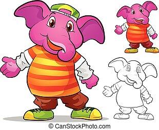 mascot elephane