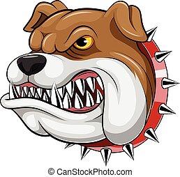 Mascot Head of an bulldog