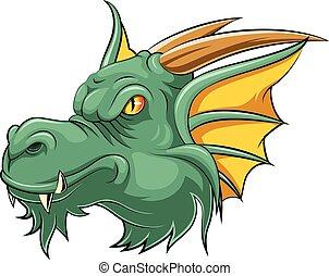Mascot Head of an dragon