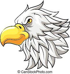 Mascot Head of an hawk