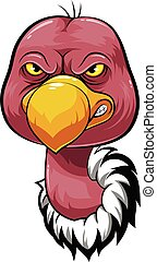 Mascot Head of an vulture