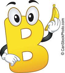 Mascot Letter B