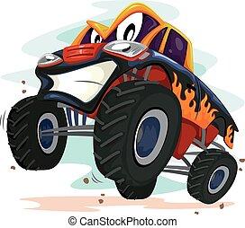 Mascot Monster Truck