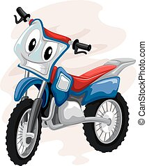 Mascot Motocross Bike