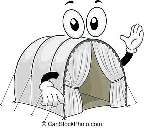 Mascot Refugee Tent