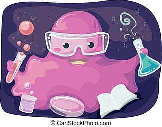 Mascot Slime Monster Experiment