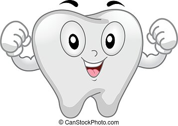 Mascot Tooth Strong