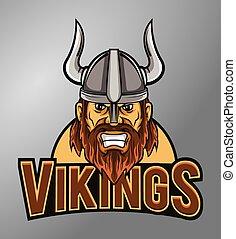 Mascot vikings