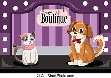 mascota, boutique