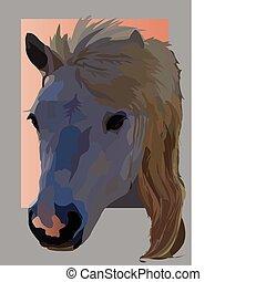 mascota, caballo