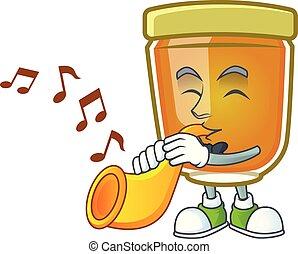 Trompette en or avec des notes de musique en arrière-plan - Telecharger  Vectoriel Gratuit, Clipart Graphique, Vecteur Dessins et Pictogramme Gratuit