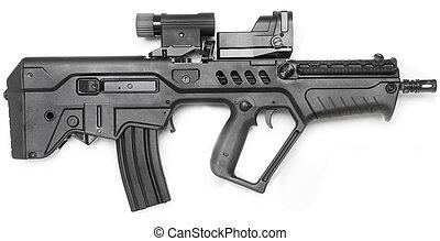 mashine, fusil