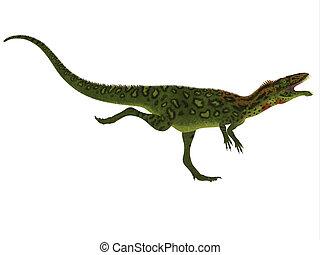 Masiakasaurus Side Profile