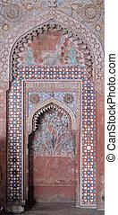 masjid, 複合センター, モスク, jama, fatehpur, sikri, pradesh, uttar, ...