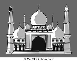 masjid, mezquita, o