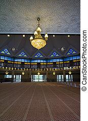 Masjid Negara Mosque in Kuala Lumpur, Malaysia