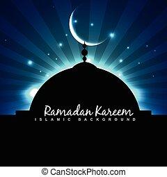 masjid ramadan backgorund