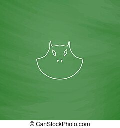 mask computer symbol