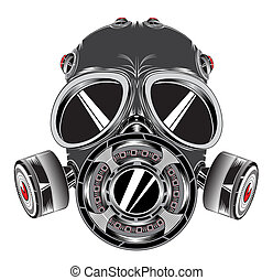 Mask - gas mask with filters