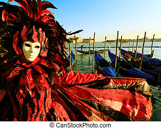 Mask in Venice, Italy