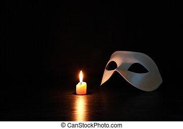 Mask Near Candle