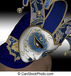 mask., venitian