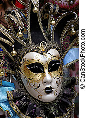 maska, karnawał, wenecjanin