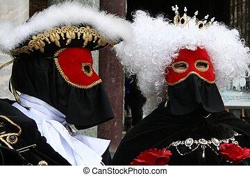 maska, -, karnawał