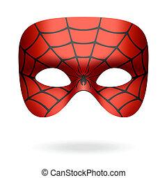 Maska, pająk