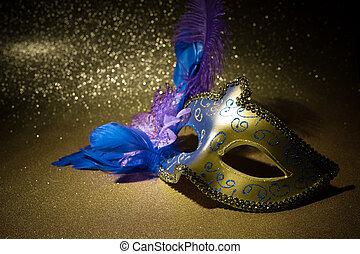 maska, samica, karnawał