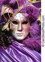maska, wenecja, 2011, karnawał