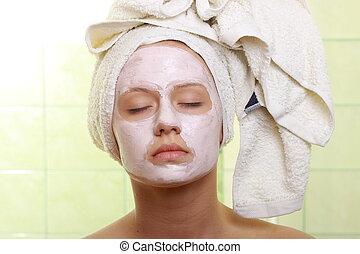 Masked Beauty - facial treatment
